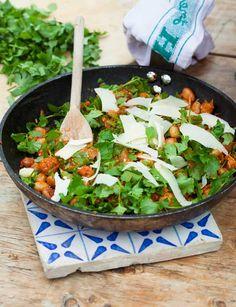 Bean ratatouille. This mouth-watering recipe is vegetarian, vegan and gluten-free!