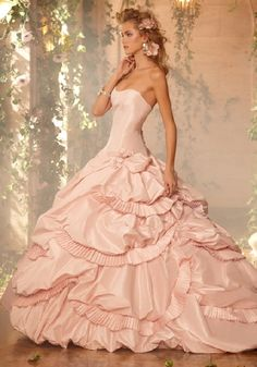 lds wedding ball gowns