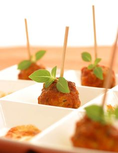 Image Gallery Elegant Appetizers