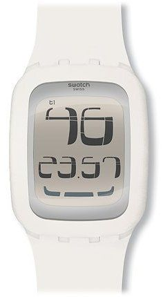 Swatch Touch White- Surw100 Swatch. $107.66. Brand:SWATCH. Condition:brand new with tags. Band Color: white. Dial color: silver. Model: SURW100. Save 23%!