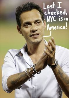 """Marc Anthony Responds To Racist Tweets: """"You Can't Get More New ..."""