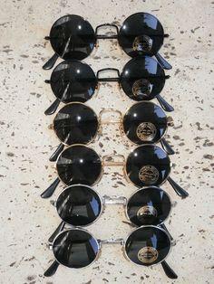 Lot: 12 x Lunettes de soleil style 70 retro vintage 70s accessoires hippie Nr.3
