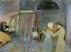 Pierre-Jean Maurel - huariqueje:  Untitled  -  Piotr Potworowski   Polish 1898-1962