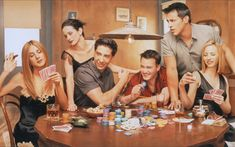 Matt le Blanc Photo: Matt LeBlanc with Matthew Perry, Courteney Cox, Jennifer Aniston, Lisa Kudrow, and David Schwimmer Friends Tv Show, Tv: Friends, Serie Friends, Friends Cast, I Love My Friends, Friends Forever, Poker Friends, Friends Moments, Friends Season