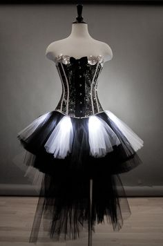 Custom Size Light up burlesque Sequin Corset prom by Glamtastik, $325.00