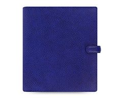 Amazon.com : Filofax Finsbury Leather A5 Organizer with Jot Pad Refill, Electric Blue (022500) : Office Products