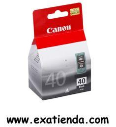 Ya disponible Cartucho Canon pg 40 negro    (por sólo 26.82 € IVA incluído):   - compatibles con: iP1300, iP1600, iP1700, iP1800, iP1900, iP2200, iP2500, iP2600, JX200, JX210P, JX500, JX510P, MP140, MP150, MP160, MP170, MP180, MP190, MP210, MP220, MP450, MP450x, MP460, MP470, MX300, MX310  - Color: Negro Garantía de fabricante  http://www.exabyteinformatica.com/tienda/1286-cartucho-canon-pg-40-negro #canon #exabyteinformatica