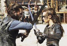 Lexa fighting