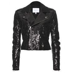 mytheresa.com - Pierre Balmain - SEQUINED BIKER JACKET - Luxury Fashion for Women / Designer clothing, shoes, bags