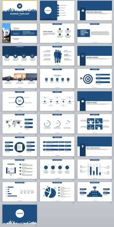 31+ blue creative annual report powerpoint presentations template, Report Presentation Template, Powerpoint templates