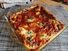 Finom és egészséges. Lasagna, Quinoa, Breakfast, Ethnic Recipes, Food, Morning Coffee, Essen, Meals, Yemek