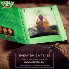 Titillate your taste-buds with the robust flavors of #Assam1860  #TeaAsItShouldBe #TeaLove #GourmetTea