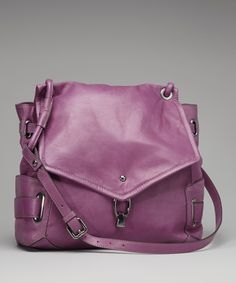 Take a look at this Kooba Violet Marnie Leather Shoulder Bag on zulily today!