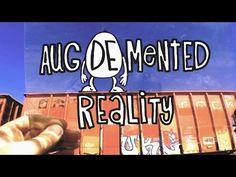 ▶ Aug(De)Mented Reality -Genial vídeo de animación con RA, a través de @jesusArbues