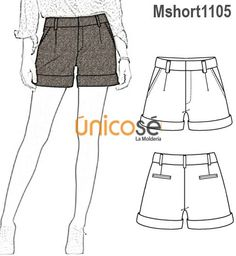 Fashion T Spring Outfits - Tips Flat Drawings, Flat Sketches, Fashion Flats, Diy Fashion, Fashion Outfits, Fashion Trends, Short Social, Fashion Figures, Fashion Design Sketches