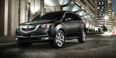 MDX with Advance Package in Crystal Black Pearl