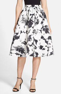 Parker 'Luisa' Woven Midi Skirt available at #Nordstrom
