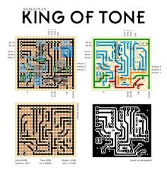 Perf and PCB Effects Layouts: Analogman King of Tone Guitar Effects Pedals, Guitar Pedals, Diy Guitar Pedal, Heavy Metal Guitar, Final Cut Pro, Circuit Diagram, Original Version, Indie Movies, Film Quotes