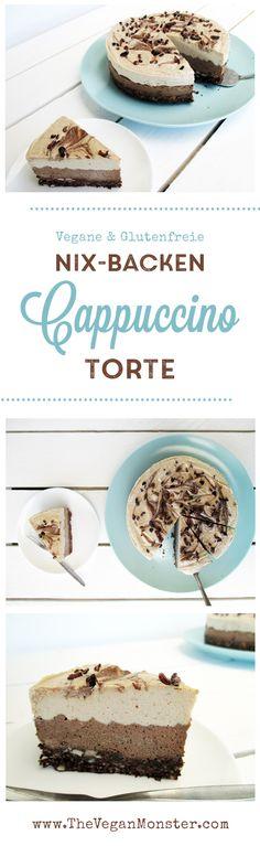 Nix Bakcen Cappuccino Torte. Vegan, glutenfrei, ohne Kristallzucker.