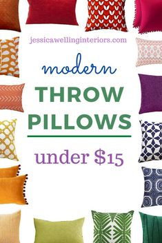 These cheap, colorful throw pillows are perfect for adding some modern boho style to your living room or bedroom decor! They have tassels, pompoms, tribal prints, florals, botanicals, and more! Plus, they come in blue, aqua, navy, green, pink, black and white, yellow, orange, and every color! Navy Blue Throw Pillows, Colorful Throw Pillows, Black Throw Pillows, Orange Pillows, Modern Throw Pillows, Navy Green, Pink Black, Yellow, Cheap Throw Pillow Covers