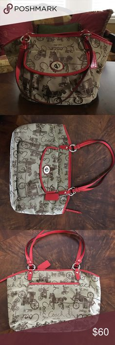 Coach Handbag Great condition! 💯 Authentic😊smoke free and pet free home 🏡 Coach Bags Shoulder Bags