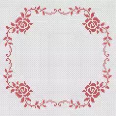 Roses Border pattern