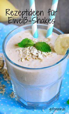 Lust auf einen Eiweiß-Shake? Leckeres Rezept: http://www.gofeminin.de/sport/eiweissshake-selber-machen-s1725365.html