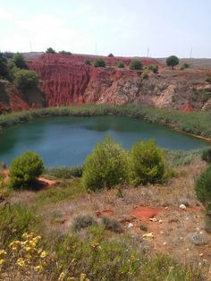 Lago di bauxite  Otranto Italia
