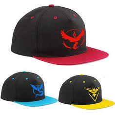 Pokemon Go Cap Hat Team Valor Team Mystic //Price: $12.43 & FREE Shipping //     #follow