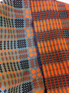 Vintage Welsh Wool Tapestry Blanket | eBay
