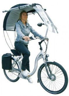 Veltop Gives Your Bicycle A Convertible Top