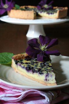 Křehký borůvkový koláč  http://www.vareniste.cz/krehky-boruvkovy-kolac/