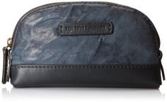 Cute!  gifted by lesbians' power shopper.  FRYE Michelle Makeup Cosmetic Case,Blue,One Size
