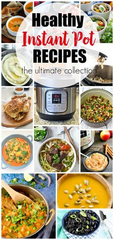 Healthy Instant Pot Recipes--over 100 recipes all in one place. Healthy Instant Pot Recipes--over 100 recipes all in one place. Instant Pot Pressure Cooker, Pressure Cooker Recipes, Pressure Cooking, Instant Cooker, Healthy Cooking, Healthy Recipes, Cheap Recipes, Healthy Dinners, Healthy Eating