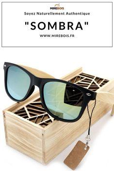 f8cbc96ddb7248 ... à dominante d un noir brillant qui lui donne une allure éclatante et  ravissante. Offrez-vous une paire de lunettes de soleil en bois ...