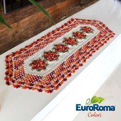 Receita • Caminho de Mesa Requinte por Sandra Brum - EuroRoma