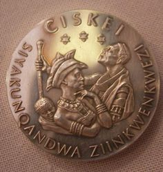 Ciskei 'Independence' medal of 1981 African Patterns, Xhosa, South Africa, Culture, My Love, People, People Illustration, African Models, Folk