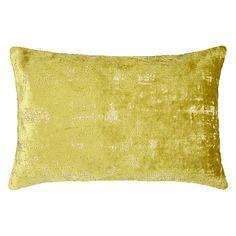Buy John Lewis Distressed Velvet Cushion Online at johnlewis.com