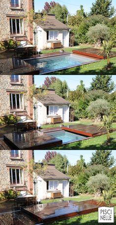 Découvrez la révolution Rolling-Deck®, la nouvelle génération d'abri plat de piscine esthétique ! Grâce à cette terrasse mobile de piscine vous passez de terrasse à piscine en un instant et vous sécurisez le bassin avec design.