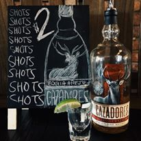 It's almost Friday! Celebrate with a special $2 shot of Cazadores Anejo from 3pm! Cheers!