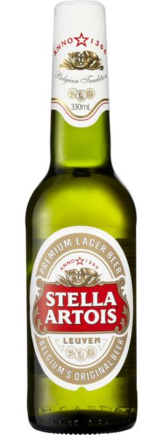 Stella Artois - the only beer I'll drink