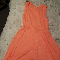 New Salmon Colored Dress