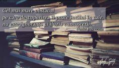 citat despre cunoastere daniel j.boorstin Cale, Motivation, Inspiration