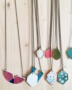 Quiet Clementine necklaces