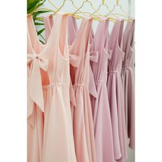Light pink nude dress Light pink nude bridesmaid dresses pink party... (£46) ❤ liked on Polyvore featuring dresses, backless bridesmaid dresses, backless cocktail dresses, cocktail prom dress, rose dress and light pink cocktail dress