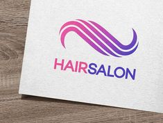 Hair Salon Logo by IKarGraphics on @creativemarket