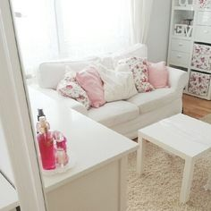 I've always wanted a couch in my room :( but its too small!