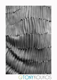 stone, lines, repetition, curves, movement, black, Tony Koukos, Koukos