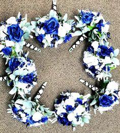 Silk Flower Arrangements, Silk Flowers, Hanukkah, Wreaths, Home Decor, Decoration Home, Door Wreaths, Room Decor, Silk Floral Arrangements