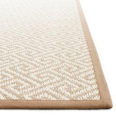Prestige Mills Pueblo diamond sisal rug